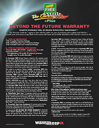 Corrosion-FREE Oil Guard 'Beyond the Future Warranty'