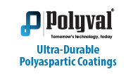 Polyval Ultra-Durable Polyaspartic Coatings Logo